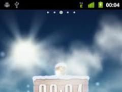 Ram Planet: Winter LWP 1.0.3 Screenshot