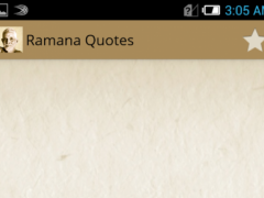 Ramana Maharshi Quotes advaita 1.0 Screenshot