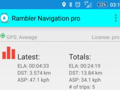 Rambler GPX Navigation 2.5.0.0 Screenshot