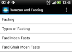 Ramzan and Fasting 1.0 Screenshot