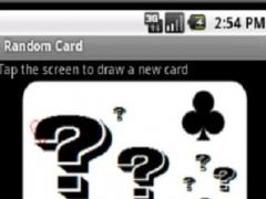 Random Card free 1.1 Screenshot