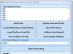 Random US Phone Number Generator Free Download