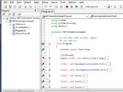 Ranorex 1.5.0 Screenshot