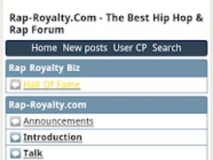 Rap Battle Forum 0.1 Screenshot