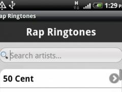 Rap Ringtones 1.0 Screenshot