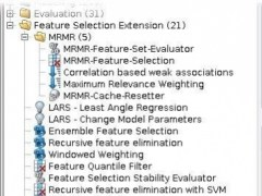 RapidMiner Feature Selection Extension  Screenshot