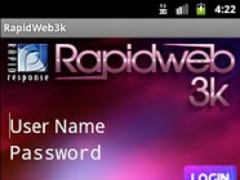 RapidWeb3k 1.6.0 Screenshot