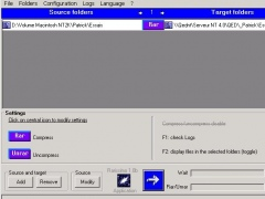 Rarissimo File Compression with NTFS for FTP - Site License 1.0b Screenshot