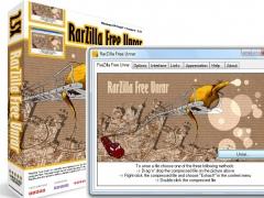 RarZilla Free Unrar 7.00 Screenshot
