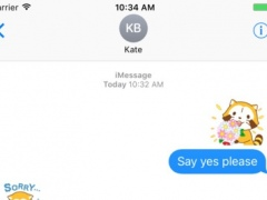 Rascal And Friends for iMessage 1.0 Screenshot