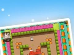 Rascally Rabbit - Garden Maze Madness 1.0 Screenshot