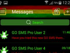 Rasta GO SMS Theme 1.0.1 Screenshot