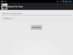 Raster Dot Size 1.0 Screenshot