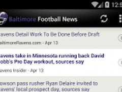 Baltimore Football News 3.0 Screenshot