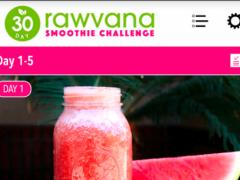 Rawvana Smoothie Challenge 1.1 Screenshot