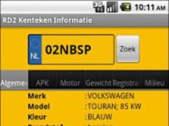 RD2 Vehicle Info 1.09 Screenshot
