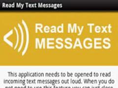 Read My Text Messages 2.03 Screenshot