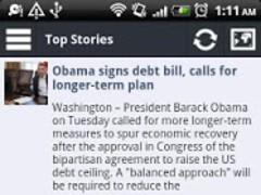 Reader for Google News 1.8 Screenshot