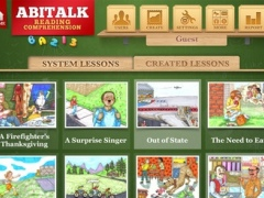 Reading Comprehension Fiction for first to second grade 2.02 Screenshot