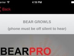 REAL Bear Sounds & Bear Calls for Big Game Hunting- BLUETOOTH COMPATIBLE 1.0 Screenshot