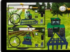 Real Corn Farming Tractor trolley Simulator 3d 2016 – free crazy farmer Harvester cultivator pro driving village sim 1.0 Screenshot