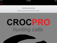REAL Crocodile Hunting Calls & Crocodile Sounds for Hunting (ad free) BLUETOOTH COMPATIBLE 1.0 Screenshot