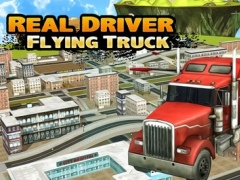 Real Driver of Flying Truck Parking Reloaded 1.0 Screenshot