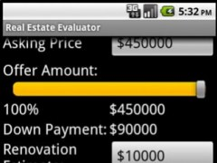 Real Estate Evaluator 1.6 Screenshot