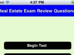 Real Estate Exam 1.0 Screenshot