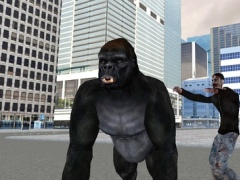 Real Gorilla vs Zombies - City 2 Screenshot