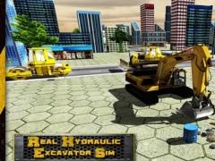 Real Hydraulic Excavator Simulator - Real Crane Operator & Sand Excavator Game 1.0 Screenshot