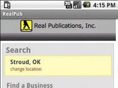 Real Phonebook 1.3 Screenshot