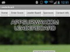 Real-Time Golf LeaderBoard 1.0 Screenshot