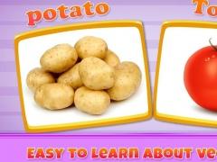 Real Vegetables For Kids 1.0.1 Screenshot