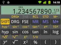 RealCalc Scientific Calculator 2.3.1 Screenshot