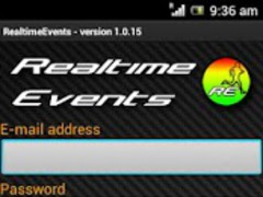 Realtime Events 1.0.20 Screenshot