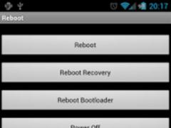 Reboot Donate 1.2 Screenshot