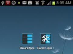 Recent Apps Quick Button 2.0 Screenshot
