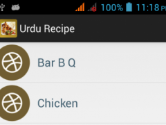 Recipe List In Urdu 1.2 Screenshot