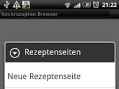 Recipes Browser 1.2.7 Screenshot