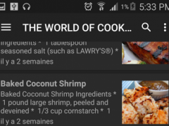 Recipes & CooKing 1.0 Screenshot
