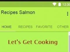 Recipes Salmon 1.0 Screenshot