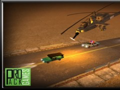 Reckless Enemy Helicopter Getaway - Dodge Apache attack in highway traffic 1.0 Screenshot