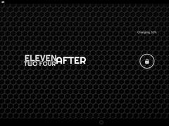 reClock: Text Clock Widget 1 Screenshot