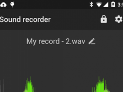 Recordr - Sound Recorder Pro  Screenshot
