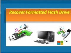 Recover Formatted Flash Drive 4.0.0.32 Screenshot