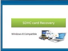 SDHC Card Recovery 4.0.0.32 Screenshot
