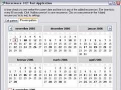 Recurrence .NET 2007.02.27 Screenshot