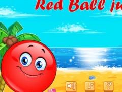 Red bounce ball jumping 1.0 Screenshot