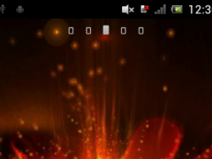 Red flower Live Wallpaper 1.0 Screenshot